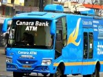Canara Bank Rolls Atm Bus Convenience