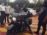 Cji Sa Bobde On Harley Davidson Bike Picture Went Viral On Social Media