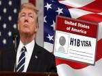 H1 B Visa Donald Trump Bans Hiring H1 B Visa Holders For Federal Contracts