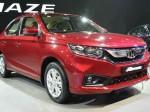 Honda Amaze 4 Lakh Unit Sales