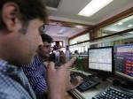 Sensex Flat Nifty Ends Above 14