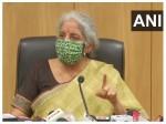 Finance Minister Nirmala Sitharaman Meets Depositors Of Guru Raghavendra Bank In Bengaluru
