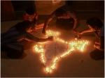 ಕೊರೊನಾ ವಿರುದ್ಧ ಬೆಳಗಿದ ಹಣತೆಗಳು:ದೇಶದಲ್ಲಿ 32,000 ಮೆಗಾವ್ಯಾಟ್ ವಿದ್ಯುತ್ ಬೇಡಿಕೆ ಇಳಿಕೆ
