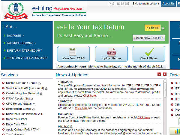 how to file tax return for indians bc