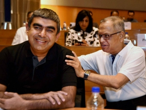 Infosys Q4 Net Profits At Rs 3 603 Crores