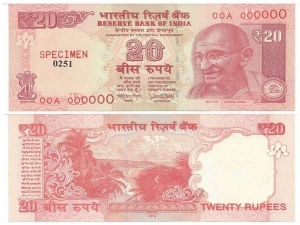 Rupee Notes With Urjit Patel Sign