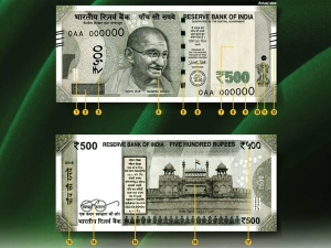 High Security Rs 500 Notes Released Distribution