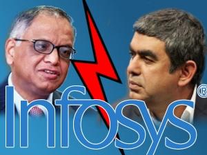 Infosys Chief Reaches To Narayana Murthy Contain Damage