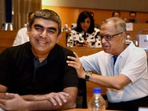 Vishal Sikka S Team Responds Founder Narayana Murthy Others
