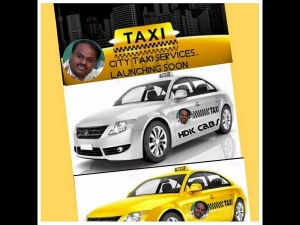 Former Cm Hd Kumaraswamy Puts His Money On Cab App