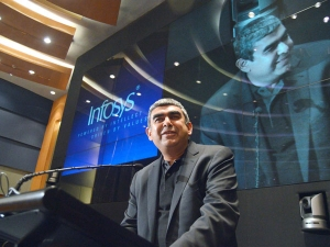 Indian It Not Dependent On H 1b Infosys Ceo Vishal Sikka