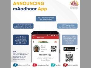 Uidai Launches Maadhaar An App That Lets You Carry Aadhaar