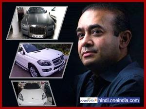 Nirav Modi S 9 Luxury Cars Seized