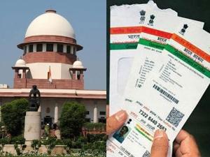 Supreme Court Verdict Aadhaar Mandatory Not Mandatory Deta