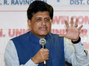 Piyush Goyal Named Interim Finance Minister