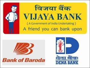 Cabinet Approves Merger Vijaya Bank Dena Bank With Bank Bar