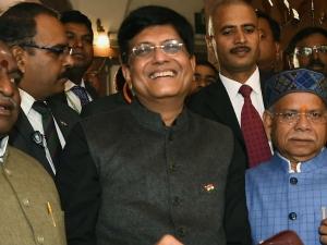 Interim Union Budget 2019 Piyush Goyal Press Conference After Budget Speech