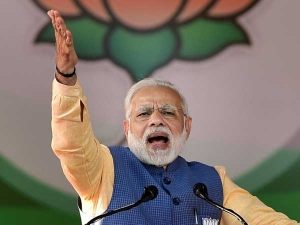 Modi Promises Collateral Free Loan Insurance Pension Cred