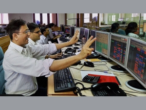 Sensex Vaults 1 422 Pts Most In 10 Years
