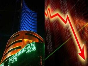Sensex Falls Over 300 Points Nifty Slides Below 11