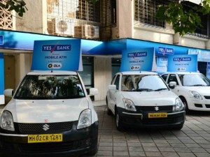 Ola Cabs Yes Bank Partner Set Up Mobile Atms India