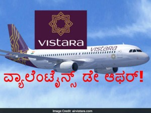 Vistara Offers All Inclusive Fares From Rs 899 Valentine S