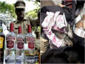 Karnataka Election Effect Over Rs 41 Crore Cash 4 Lakh Lit