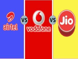 Jio Vs Vodafone Vs Airtel Best Prepaid Plans Under Rs