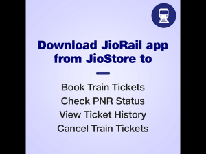 Reliance Jio Launches Jiorail App For Jiophone And Jiophone2 Users