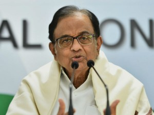 P Chidambaram Twitter Demonetisation Unemployment Interim Budget
