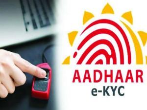 What Is Aadhaar Kyc Know E Kyc For Aadhaar Card