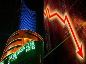 Sensex Ends 196 Points Lower