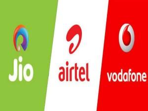 Jio Vs Airtel Vs Vodafone Idea New Plans Comparison