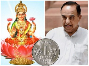 Goddess Laxshmi On Notes May Improve Rupee Value