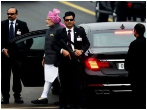 Rs 6 75 Lakh A Hour Cost Of Pm Modi S Spg Security Cover