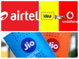 Reliance Jio Airtel Vodafone Idea Yearly Plans Comparision