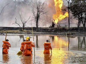 Assam Oil Well Fire Oil India Limited Loses Production Of Over 8291 Mt Crude Oil